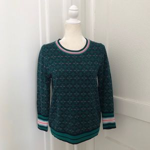 J. Crew Tippi Sweater in Festive Fair Isle